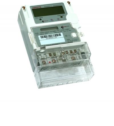Công tơ điện tử 1 pha 3 giá OVE-A003 10(80)A