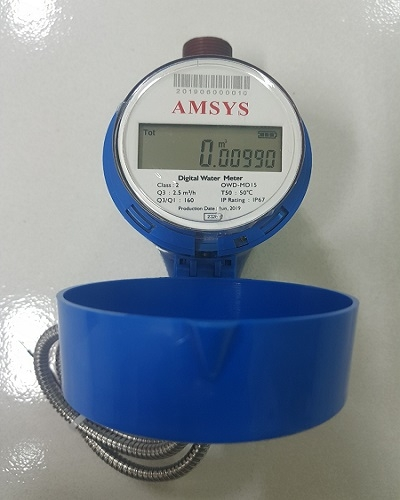 Đồng hồ điện tử nước lạnh đa tia chuẩn truyền thông M-Bus